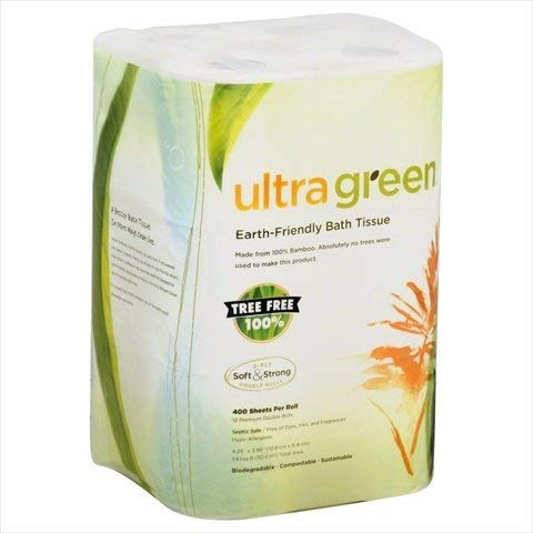 Ultra Green Bathroom Tissue -Pack of 8