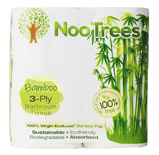 NooTrees Bath Tissue 4 Roll 3ply/300 Sheets Bulk 48 Rolls Total